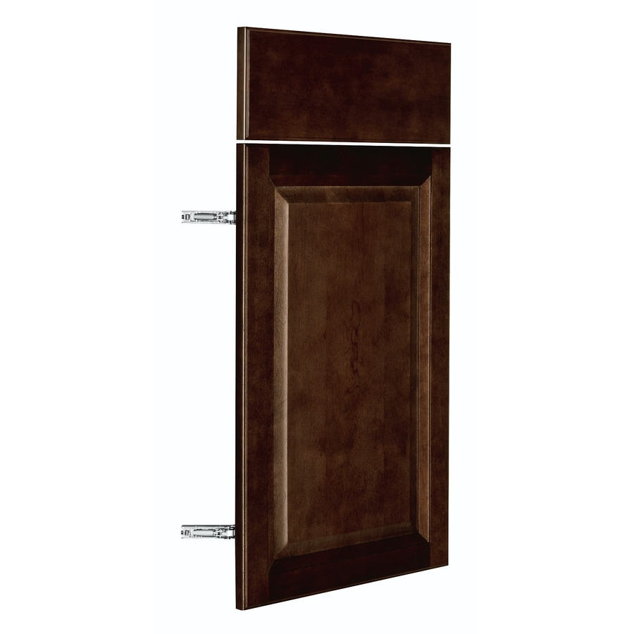 Nimble by Diamond Balsamic Barrel 14.875-in W x 23.9062-in H x 0.75-in D Umber Door and Drawer Base Cabinet