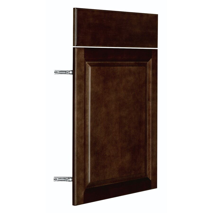 Nimble by Diamond Balsamic Barrel 17.875-in W x 23.9062-in H x 0.75-in D Umber Door and Drawer Base Cabinet