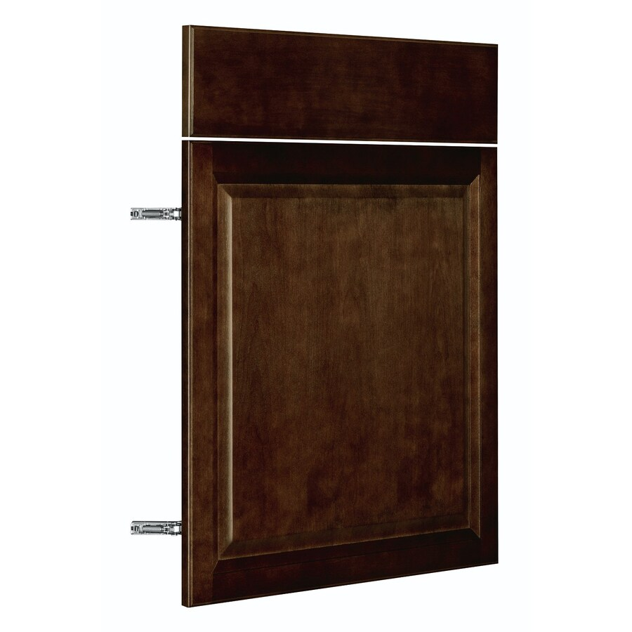 Nimble by Diamond Balsamic Barrel 23.875-in W x 23.9062-in H x 0.75-in D Umber Door and Drawer Base Cabinet