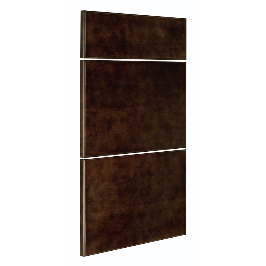 Nimble by Diamond Balsamic Barrel 17.875-in W x 5.8437-in H x 0.75-in D Umber Drawer Base Cabinet