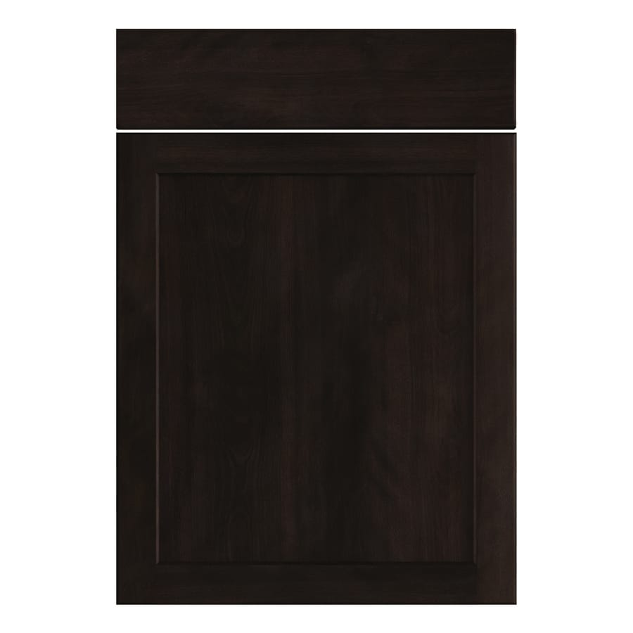 Nimble by Diamond Brownstone Beat 20.875-in W x 23.9062-in H x 0.75-in D Chocolate Shaker Door and Drawer Base Cabinet