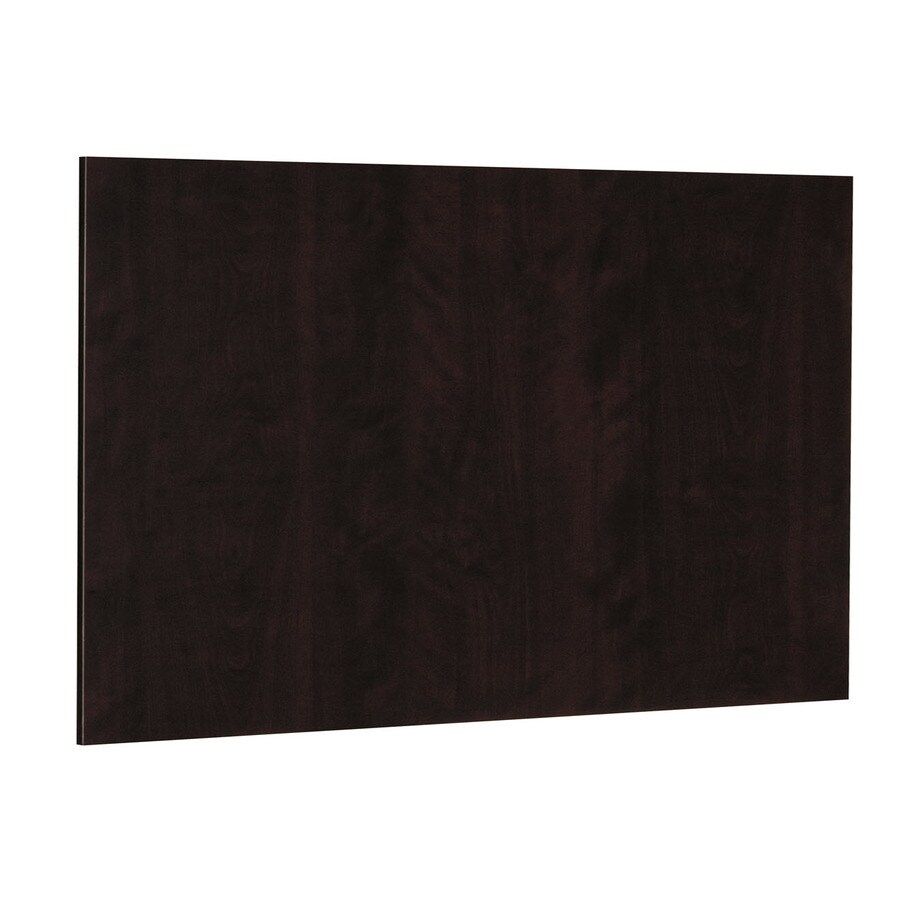 Nimble by Diamond Brownstone Beat 48-in x 36-in Chocolate Cabinet End Panel