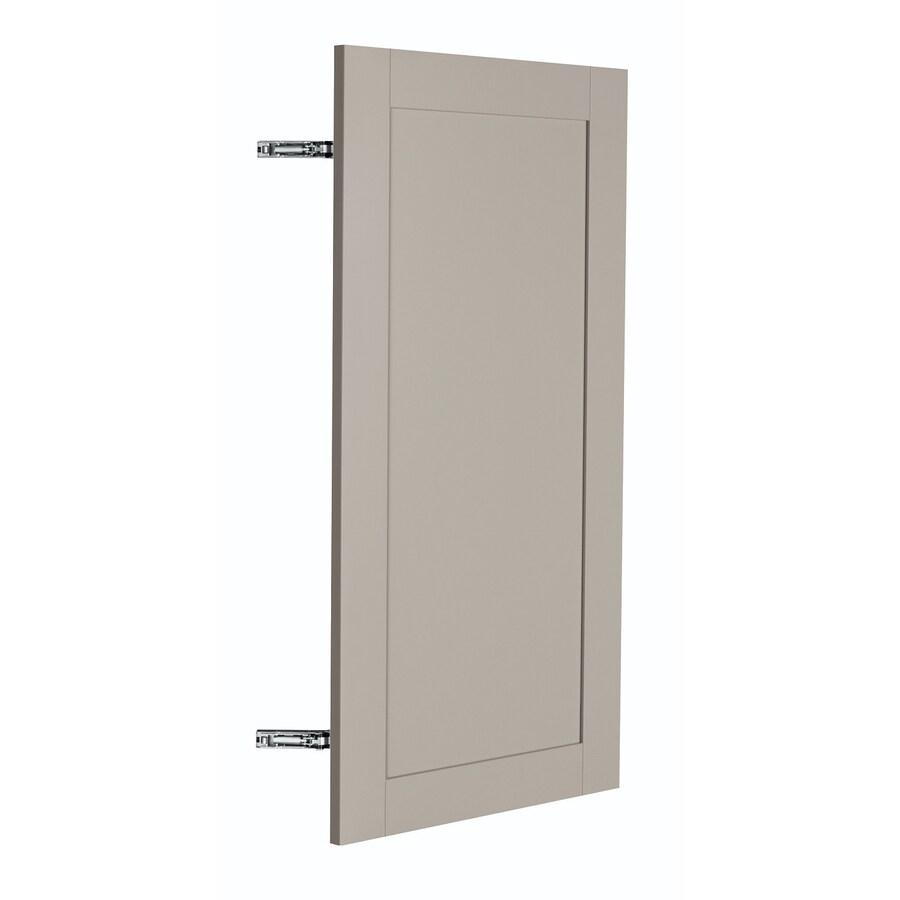 Nimble by Diamond Sea Salt 14.875-in W x 29.906-in H x 0.75-in D Cloud Shaker Door Wall Cabinet