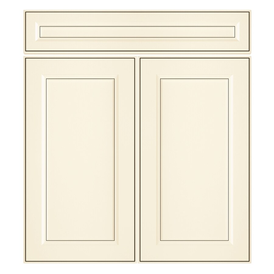 Nimble by Diamond Veranda Breeze 13.375-in W x 23.9062-in H x 0.75-in D Toasted Antique Laminate Door and Drawer Base Cabinet