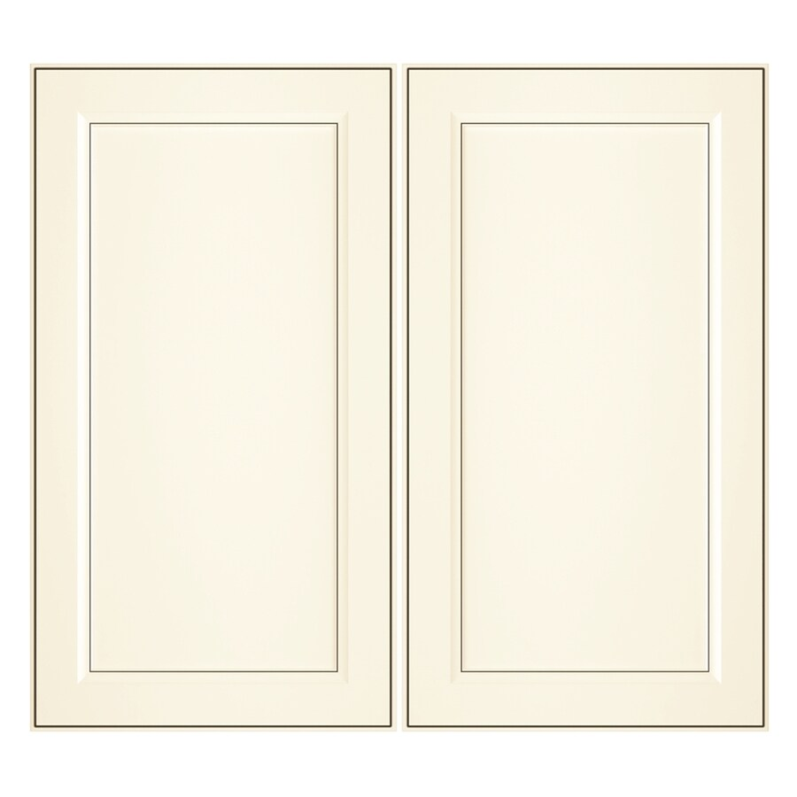 Nimble by Diamond Veranda Breeze 16.375-in W x 29.9062-in H x 0.75-in D Toasted Antique Laminate Door Wall Cabinet