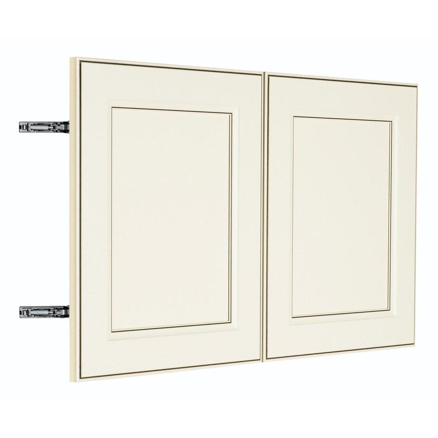 Nimble by Diamond Veranda Breeze 29.875-in W x 17.9062-in H x 0.75-in D Toasted Antique Door Wall Cabinet