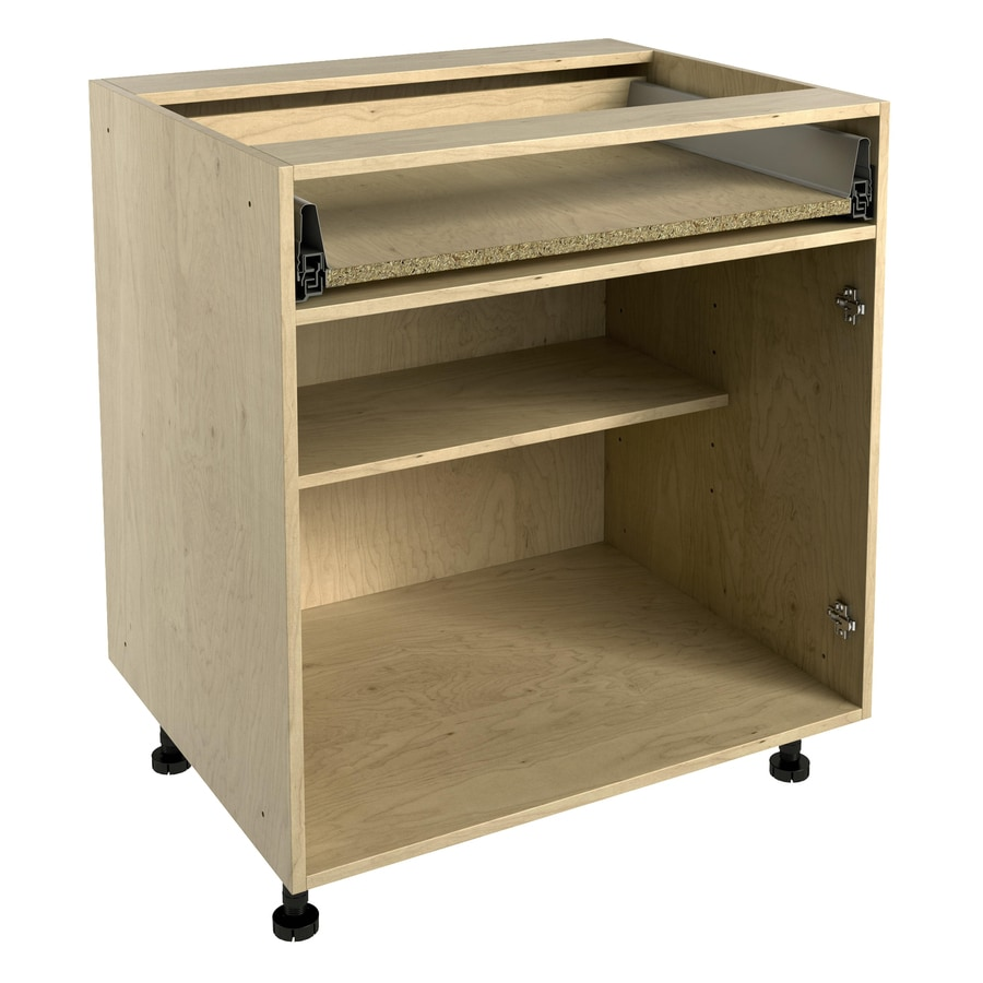 Nimble by Diamond 30-in W x 30-in H x 24-in D Natural Maple Door and Drawer Base Cabinet