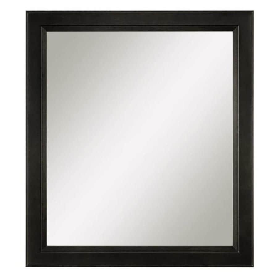 shop diamond fresh fit goslin 30 in w x 34 in h storm rectangular bathroom mirror at