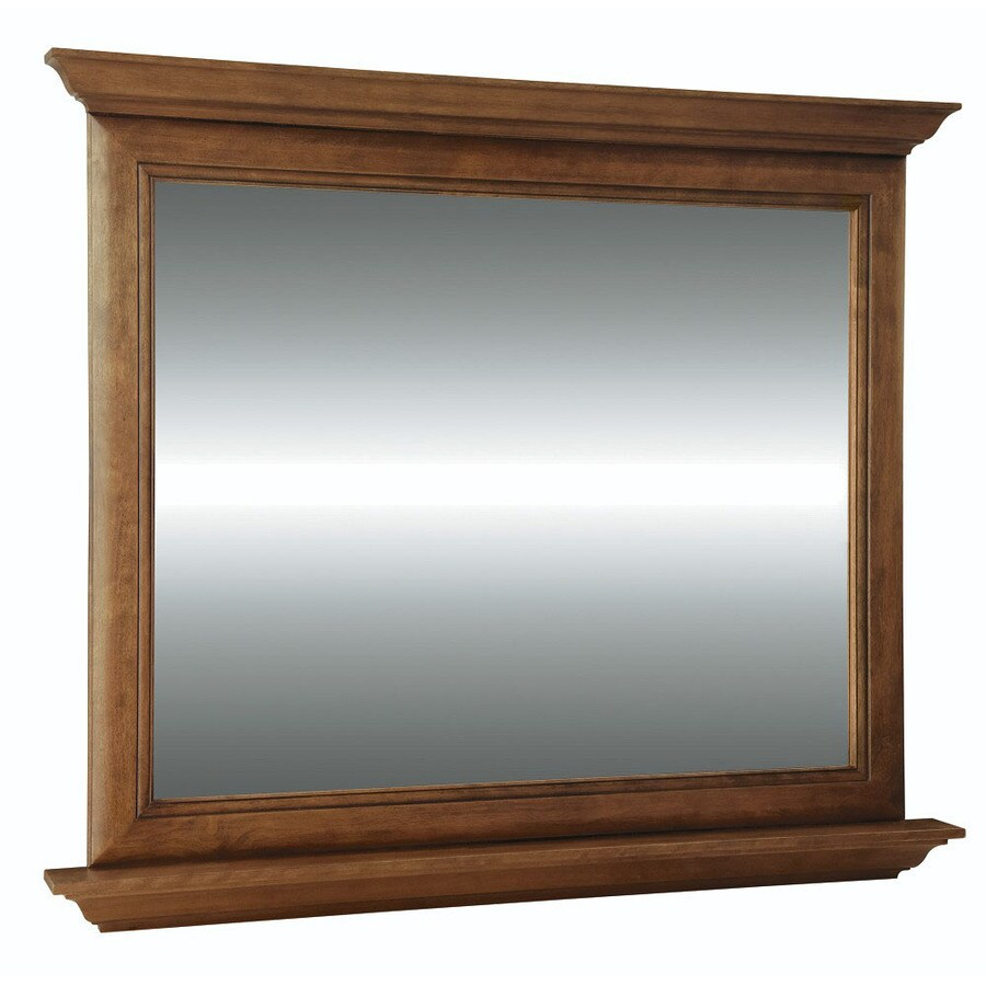 Shop Diamond Fresh Fit Ballantyne 42 In W X 34 In H Mocha With Ebony Glaze Re