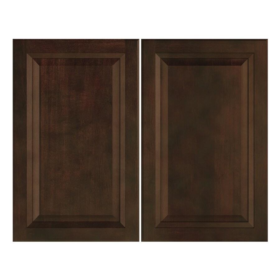 Nimble by Diamond Balsamic Barrel 14.875-in W x 23.9062-in H x 0.75-in D Umber Door Wall Cabinet
