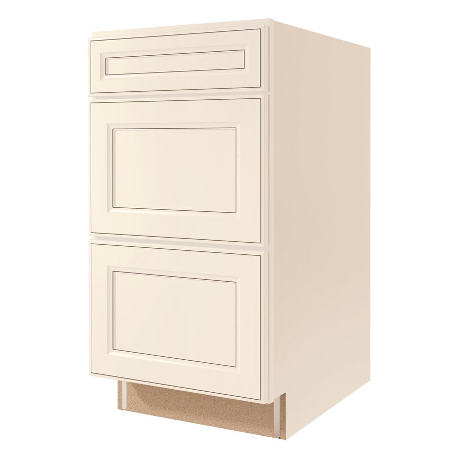 Kitchen Classics Caspian 24-in W x 35-in H x 23.75-in D Toasted Antique Drawer Base Cabinet