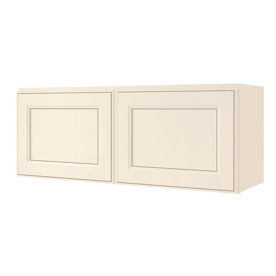 Kitchen Classics Caspian 36-in W x 14-in H x 12-in D Toasted Antique Door Wall Cabinet