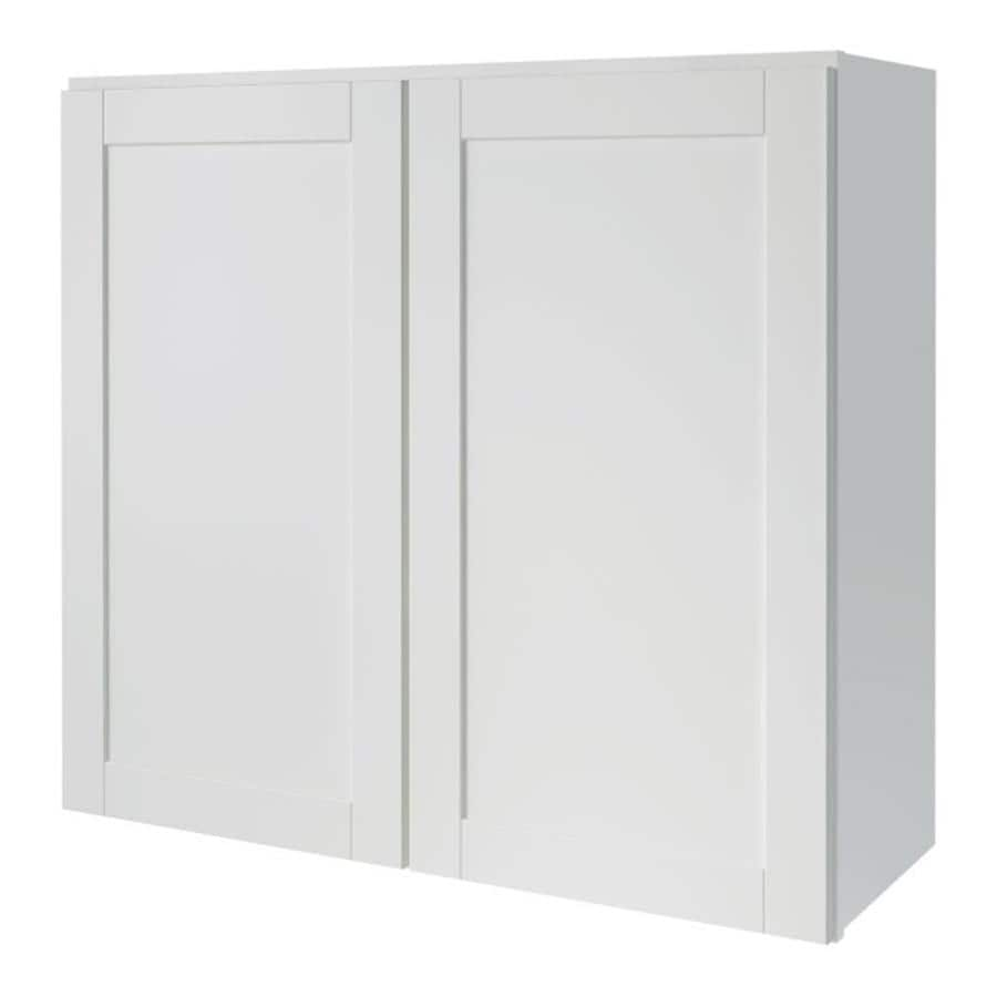 Shop kitchen classics arcadia 33 in w x 30 in h x 12 in d for White kitchen wall cabinets