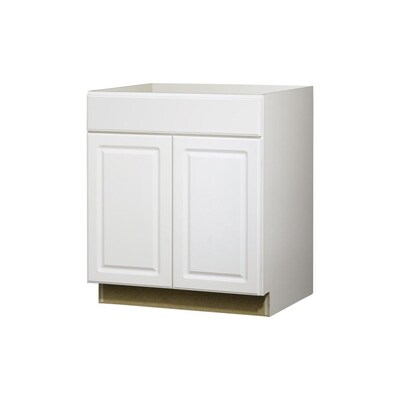 Kitchen Classics 30 In Concord White Door And Drawer Base