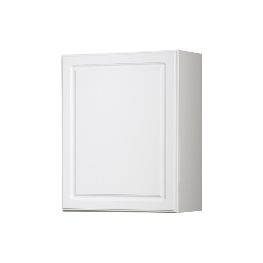 Kitchen Classics 30-in x 24-in x 12-in Concord White Single Door Kitchen Wall Cabinet
