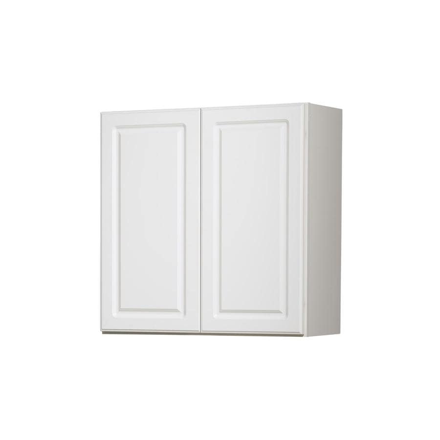 Kitchen Classics 30-in x 30-in x 12-in Concord White Double Door Kitchen Wall Cabinet
