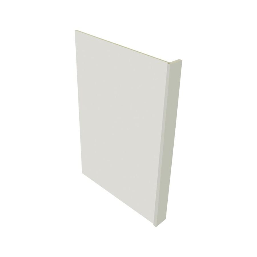 Kitchen Classics Concord 3-in x 35-in White Cabinet End Panel