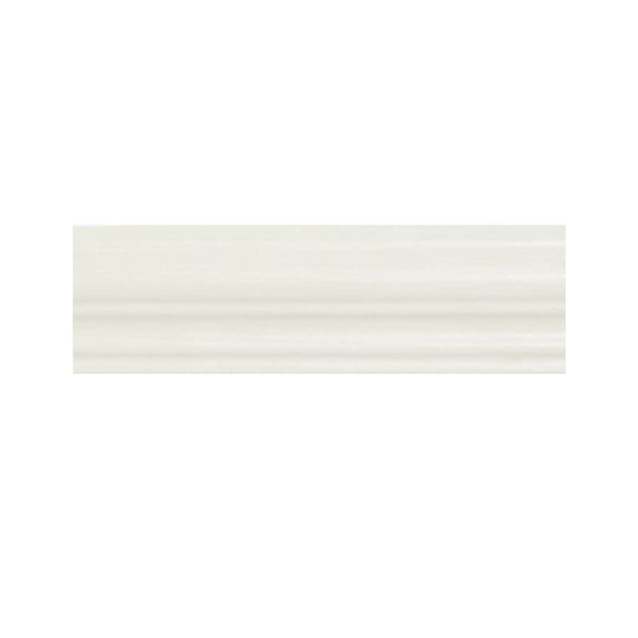 Kitchen Classics Concord 96-in x 1.75-in White Cabinet Crown Moulding