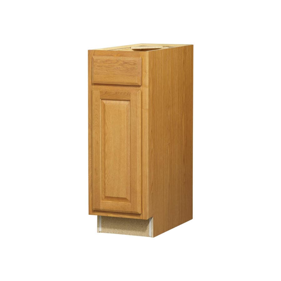 Kitchen Classics Portland 12-in W x 35-in H x 23.75-in D Wheat Door and Drawer Base Cabinet