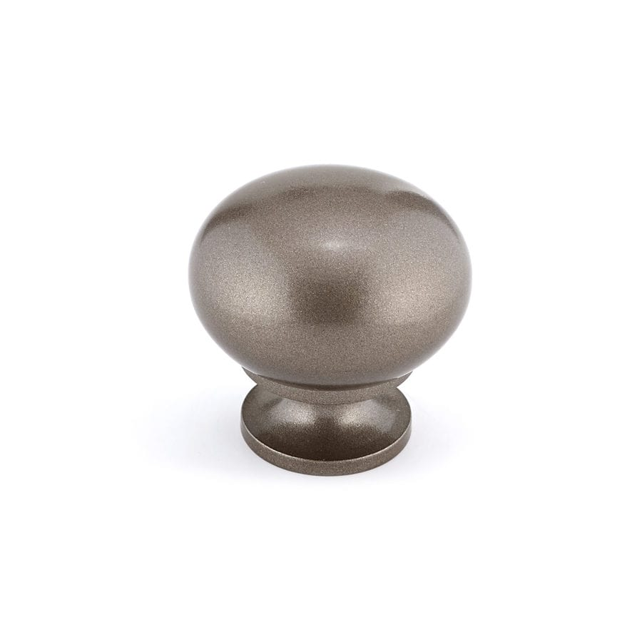 "Richelieu Knob 1-1/4"" dia. (8/32) Hollow Metallic Bronze"