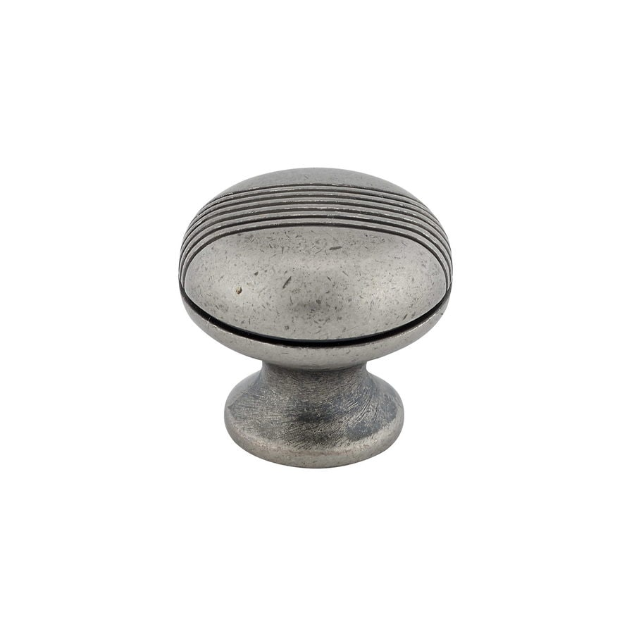 Richelieu Knob Metal 31mm dia. (8/32) Simili Iron
