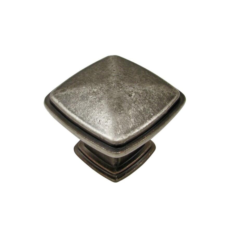 Richelieu Knob Metal 31mm dia. (8/32) Pewter