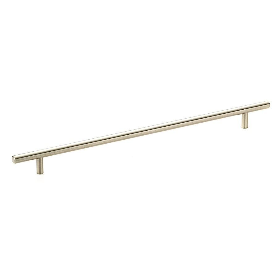 Richelieu 11-3/4-in Center-to-Center Brushed Nickel Cabinet Pull