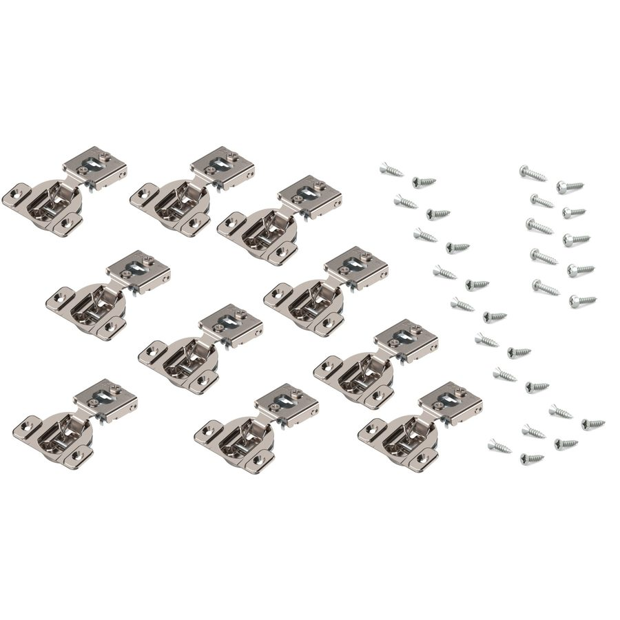 Blum 7/16-in Nickel Concealed Self-Closing Cabinet Hinge