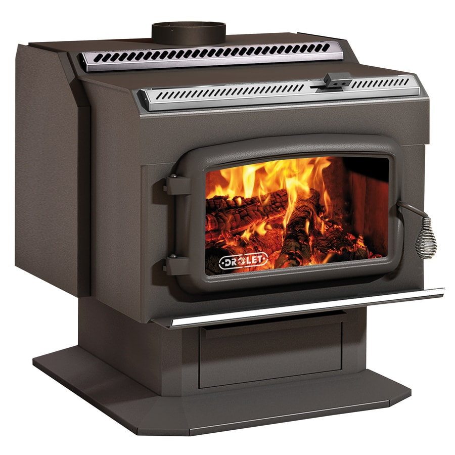 Drolet 2,400-sq ft Wood Stove