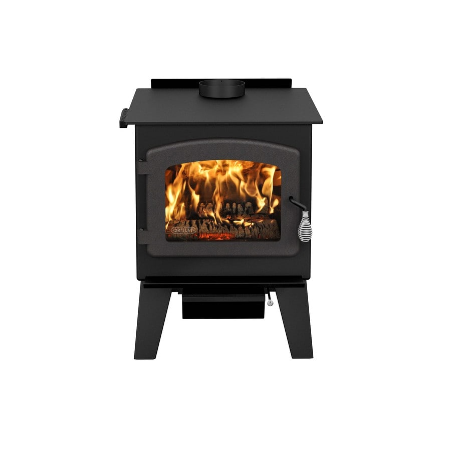 Shop Drolet 2 100 Sq Ft Wood Stove At Lowes Com