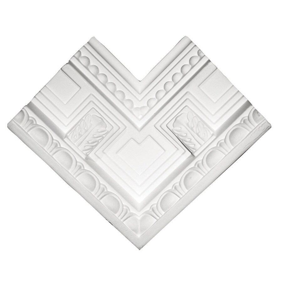 ARCHITECTURAL ORNAMENT 5.3125-in x 3.624-in Crown Moulding Block
