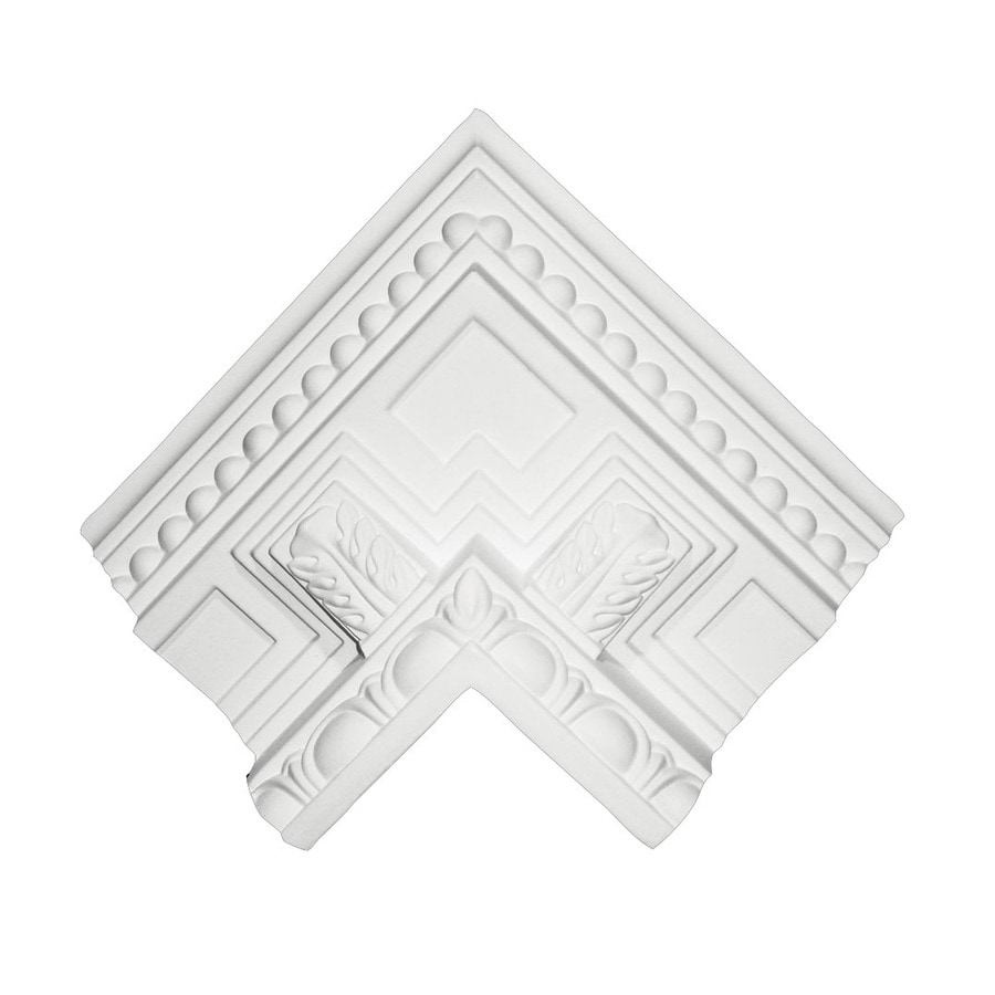 ARCHITECTURAL ORNAMENT 5.3125-in x 3.372-in Crown Moulding Block