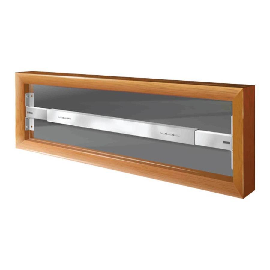 Mr. Goodbar A 42-in White Fixed Window Security Bar