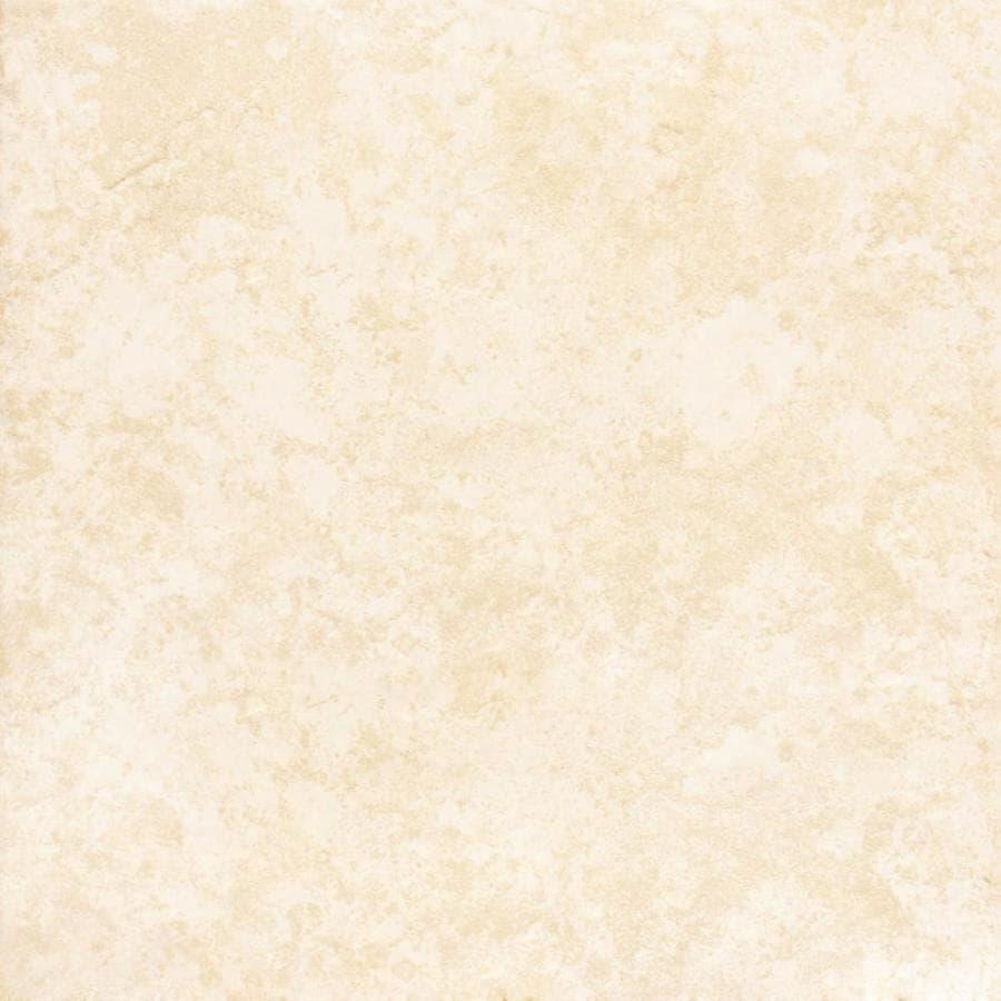 Project Source Tiolo Beige Ceramic Floor Tile (Common: 16-in x 16-in; Actual: 15.9-in x 15.9-in)