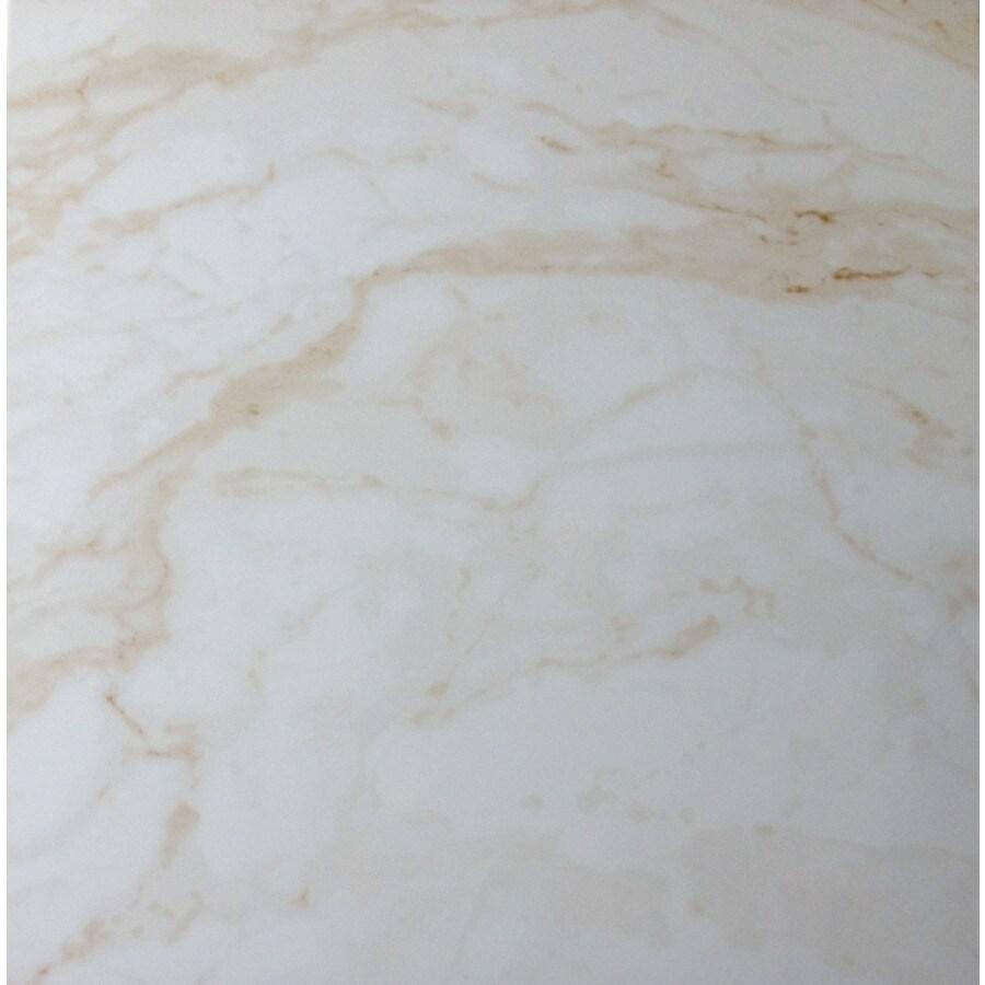 CELIMA Calcutta Blanco Ceramic Floor Tile (Common: 18-in x 18-in; Actual: 17.65-in x 17.65-in)