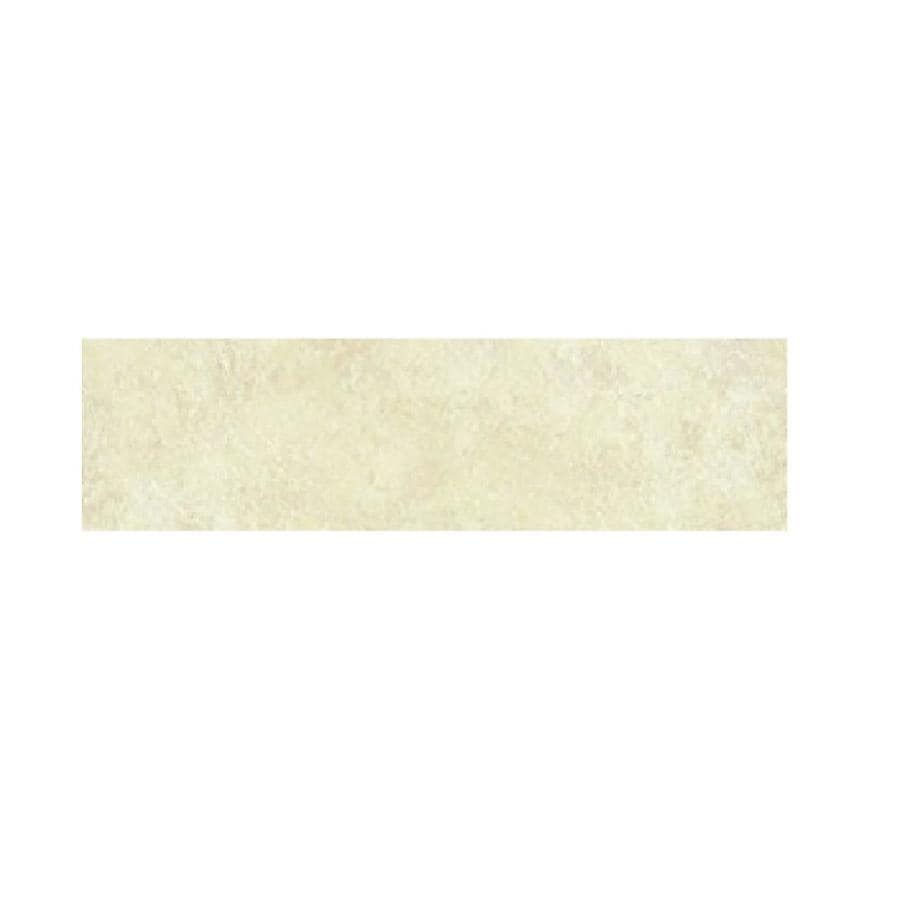 CELIMA Cordova Ivory Ceramic Bullnose Tile (Common: 3-in x 12-in; Actual: 2.795-in x 11.976-in)