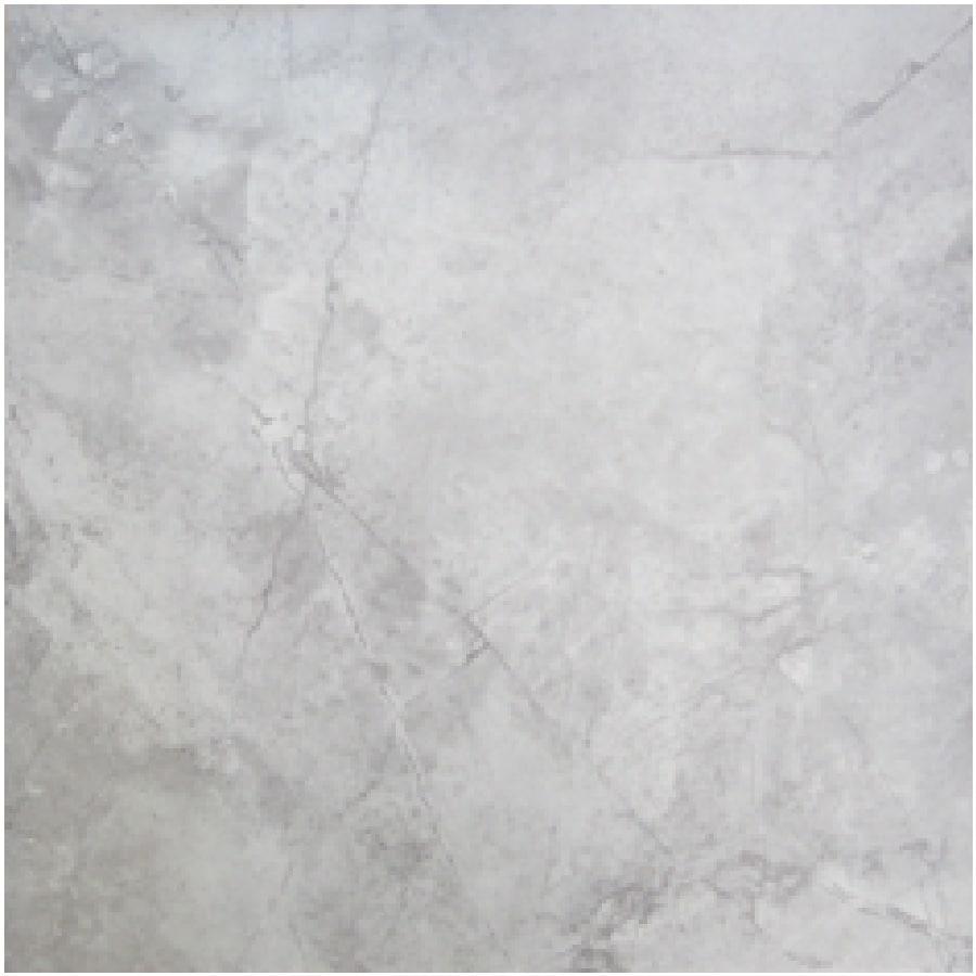Gray and white tile floor
