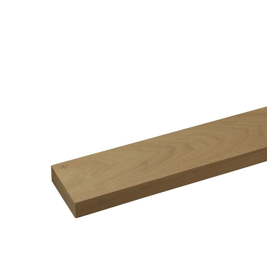Poplar Board (Common: 1/2-in x 3-in x 4-ft; Actual: 0.5-in x 2.5-in x 4-ft)