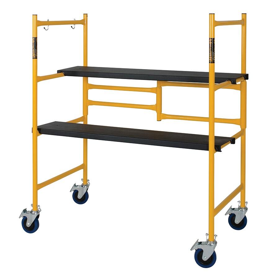 Metaltech 4-ft x 41-in x 23-in Steel Portable Scaffold
