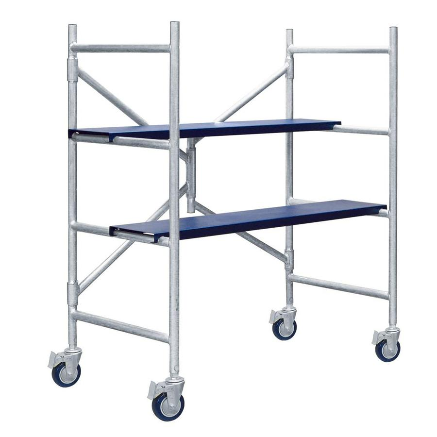 Xtend & Climb 4' Aluminum Mini-Scaffold Multipurpose Ladder