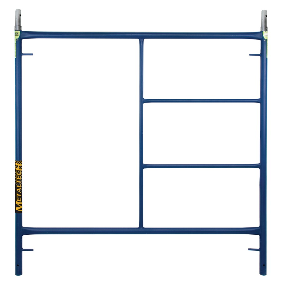 "Metaltech 60""H x 60""W Steel Scaffold Ladder Frame"
