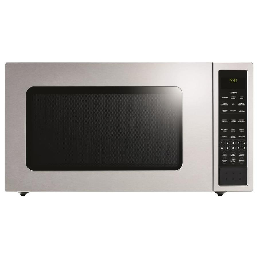 Countertop Microwave Ovens With Stainless Steel Interior : ... cu ft 1,200-Watt Countertop Microwave (Stainless Steel) at Lowes.com