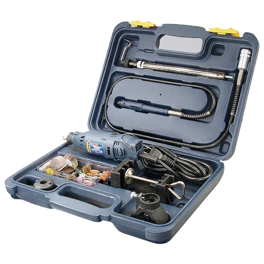 Gyros PowerPro 85-Piece Variable Speed Multipurpose Rotary Tool Kit with Hard Case