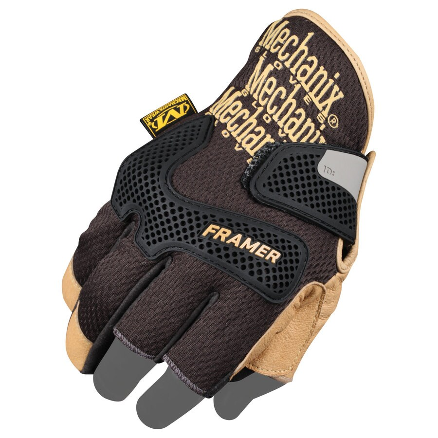 MECHANIX WEAR Large MenS Leather Leather Palm High Performance Gloves