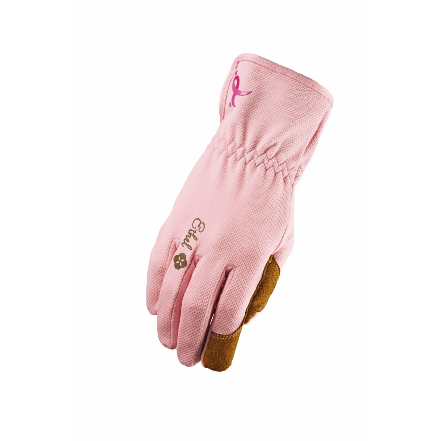 Ethel Gloves Women's Large Pink Garden Gloves