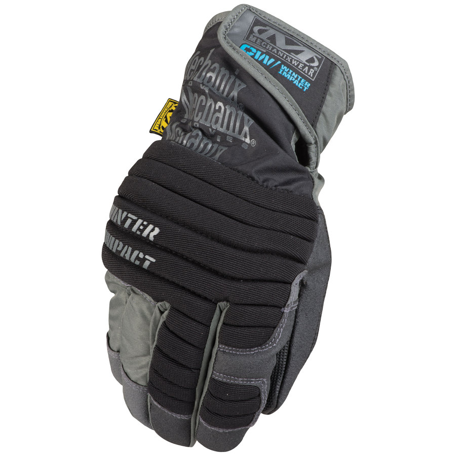 MECHANIX WEAR X-Large Male Black and Grey Cotton Insulated Winter Gloves