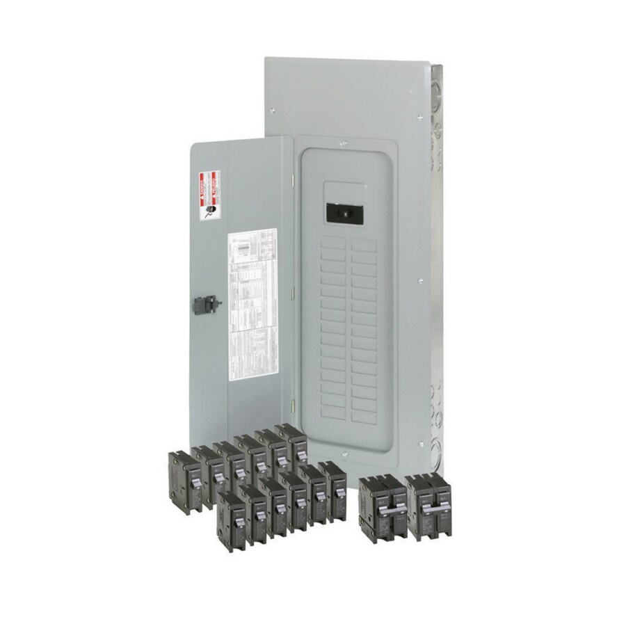 Eaton 40-Circuit 30-Space 200-Amp Main Breaker Load Center (Value Pack)