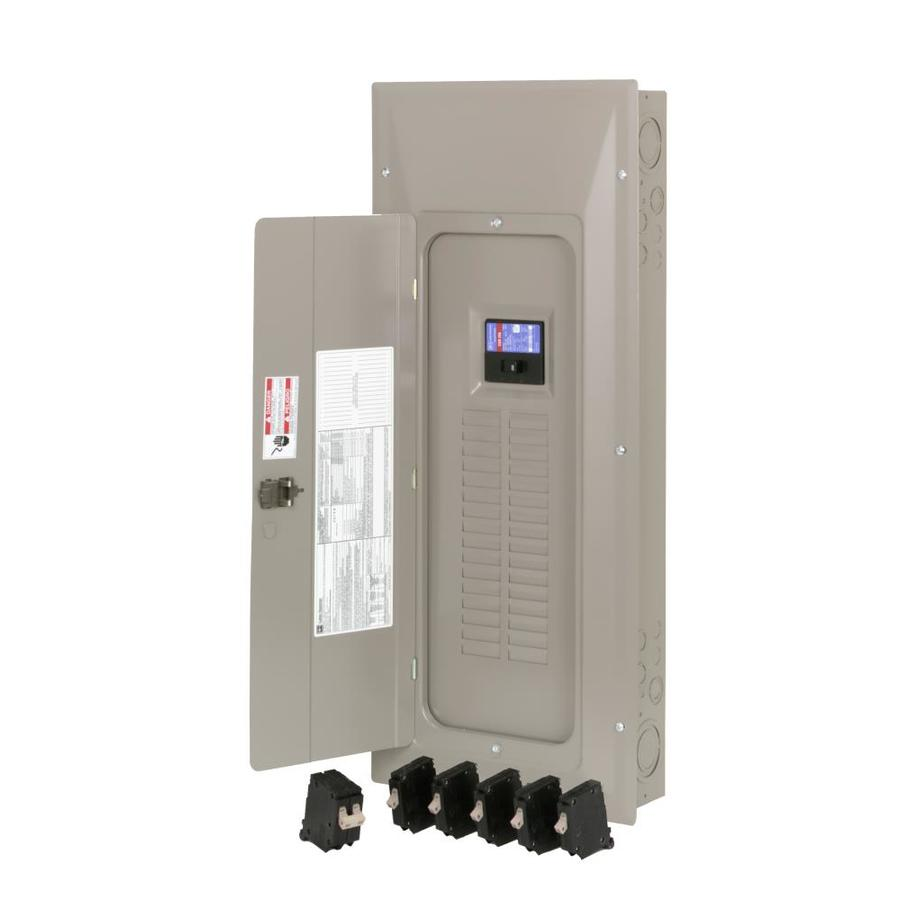 Eaton 32-Circuit 32-Space 200 Amp Main Breaker Load Center (Value Pack)