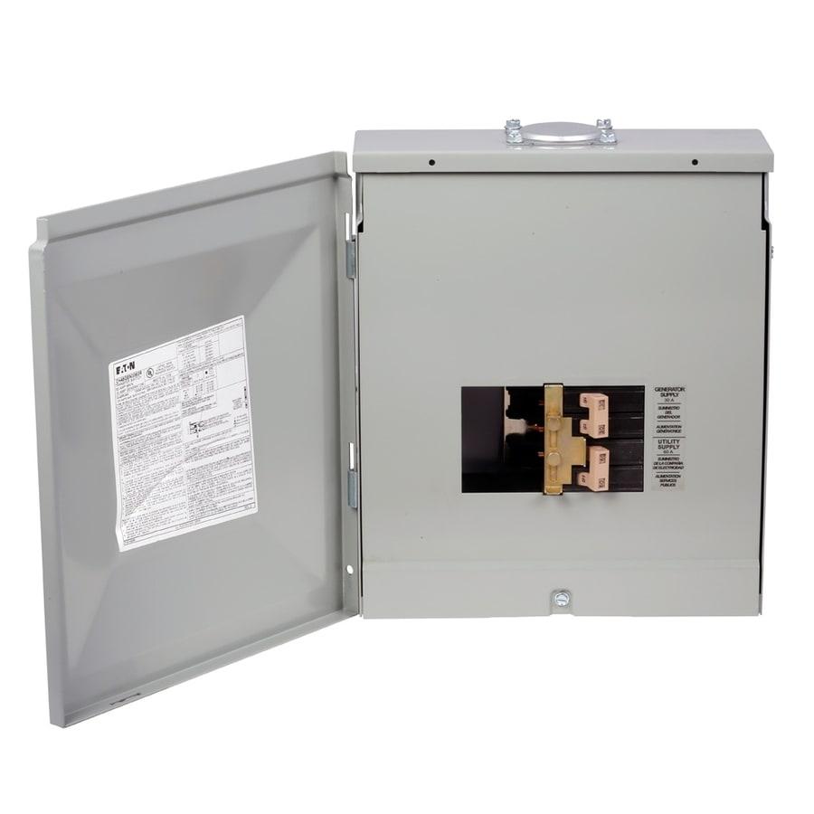 Eaton 8-Circuit 4-Space 30 Amp Main Breaker Load Center
