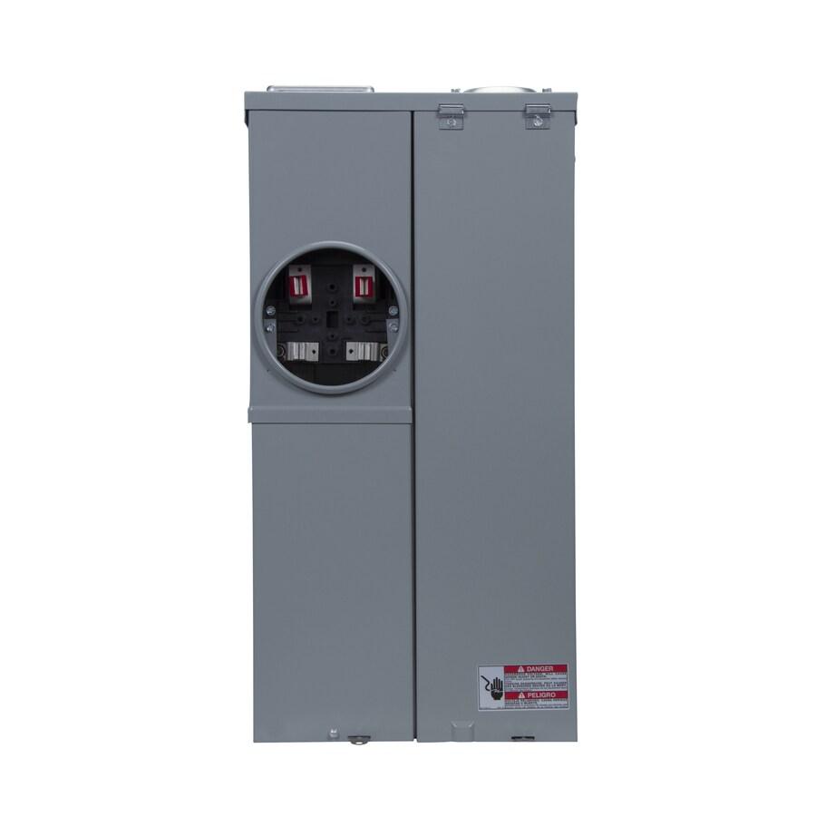 Eaton 8-Circuit 8-Space 200-Amp Main Breaker Load Center